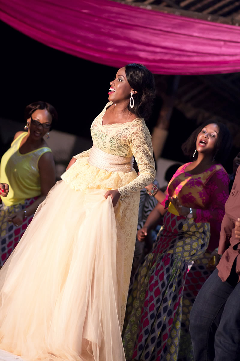 Subira Wahure Official African Couture Blog BEAUTIFUL BRIDE;NYENDO KITCHEN PARTY DRESS BY EVE ...