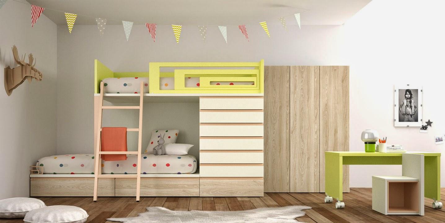 Muebles dormitorios nios a medida with muebles for Dormitorio infantil bosque