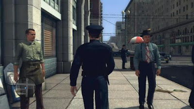 L A Noire PC Games Free Download
