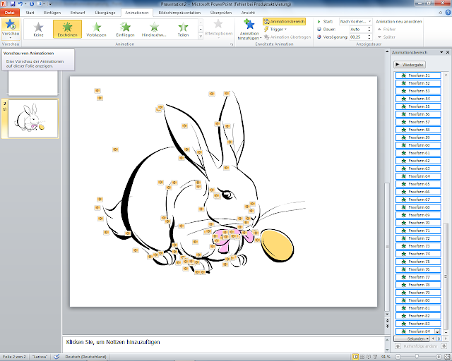 PowerPoint 2010 - ClipArt Animation starten