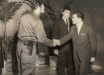 Joaquim Manuel Durão con Fidel Castro