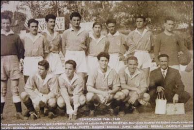 Club Deportivo Binéfar Temporada 1946-1948