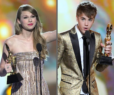 taylor swift and justin bieber and. Taylor Swift is the first