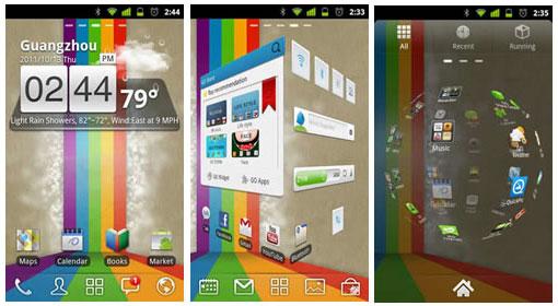 Aplikasi Android Go Launcher