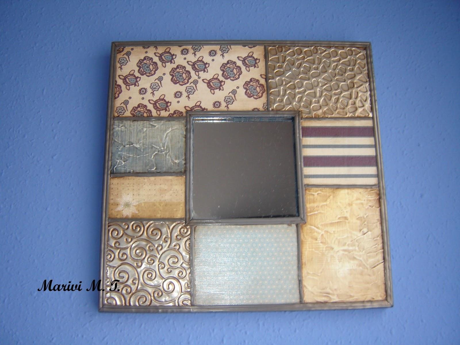 El taller de manualidades de marivi espejos - Espejos para manualidades ...