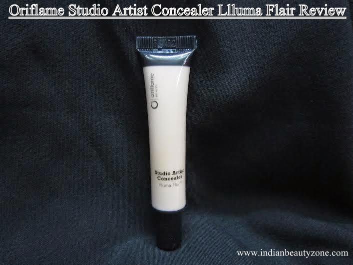 Oriflame Studio Artist Concealer Llluma Flair swatches