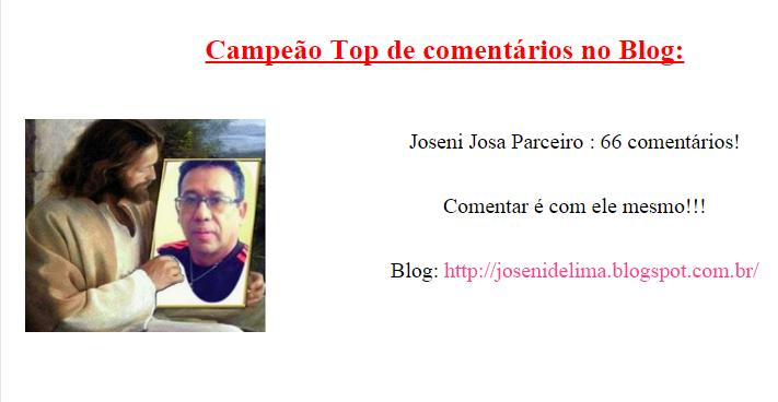CAMPEÃO TOP DE COMENTÁRIOS