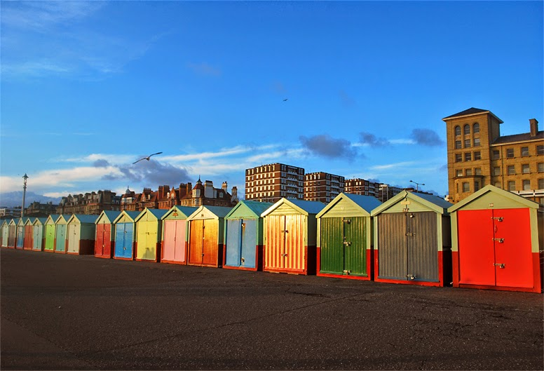 Brighton Colourful Hut Houses