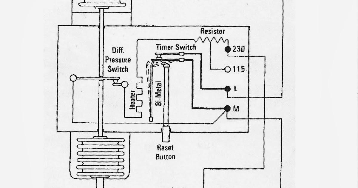 refrigeration chronicles : calibrating oil failure controls on ... oil failure conrol wiring diagram  refrigeration chronicles
