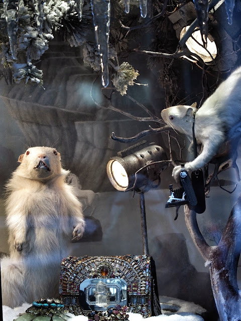 Groundhog Day, #BGWindows, New York City, Holiday Windows 2013