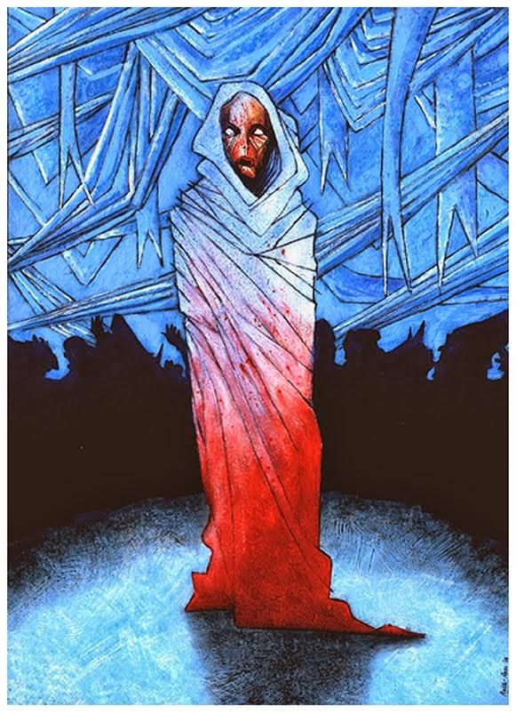 """""""La máscara de la Muerte Roja"""" 2D3"""