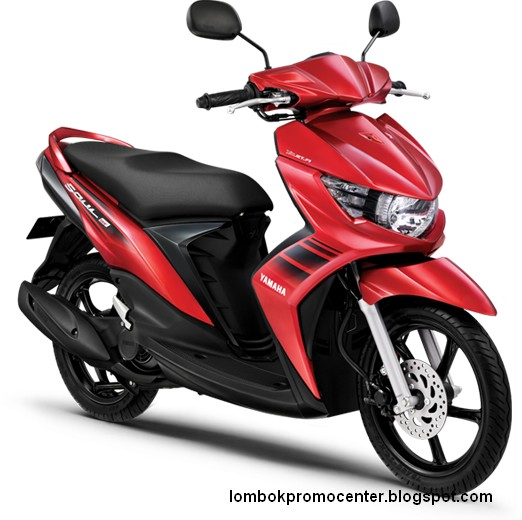 Yamaha Soul Gt Merah - Fighting red