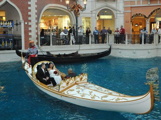 The Las Vegas Gondola Wedding Package