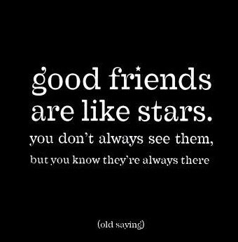 good friends saying