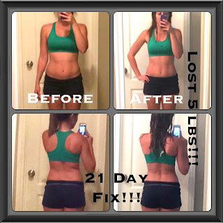 21 Day Fix Transformation, Mom of 2 success story, accountability group, www.HealthyFitFocused.com, Julie Little