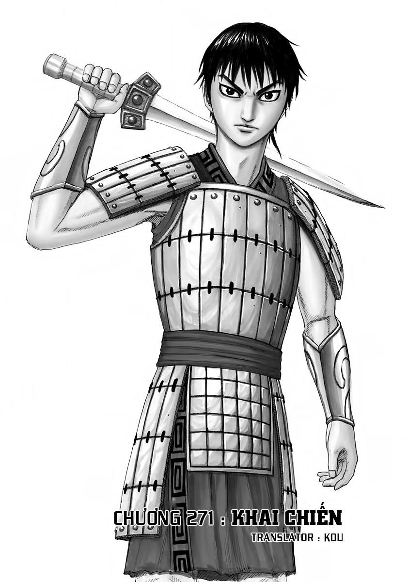 Kingdom – Vương Giả Thiên Hạ (Tổng Hợp) chap 271 page 1 - IZTruyenTranh.com