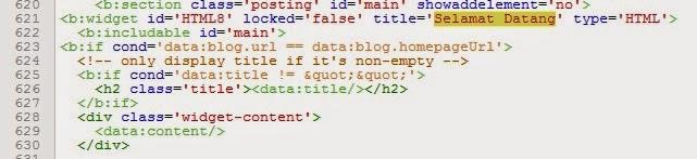 Cara Membuat Widget Hanya Tampil di Homepage Itu Mudah