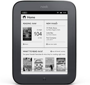 Black Barnes & Noble NOOK 2GB E-Reader