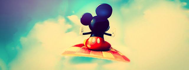 Mickey Mouse In Sky