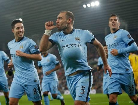 Liga Inggris : Sunderland 1-4 City