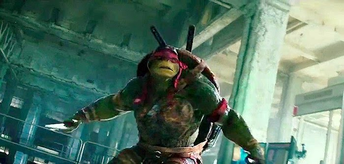 TMNT Teenage Mutant Ninja Turtles Raphael Michael Bay 2014 Paramount
