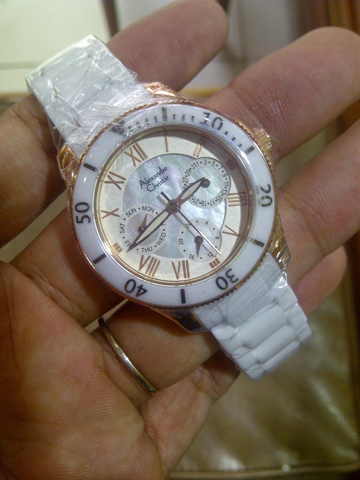 Alexandre Christie 2476 White Gold