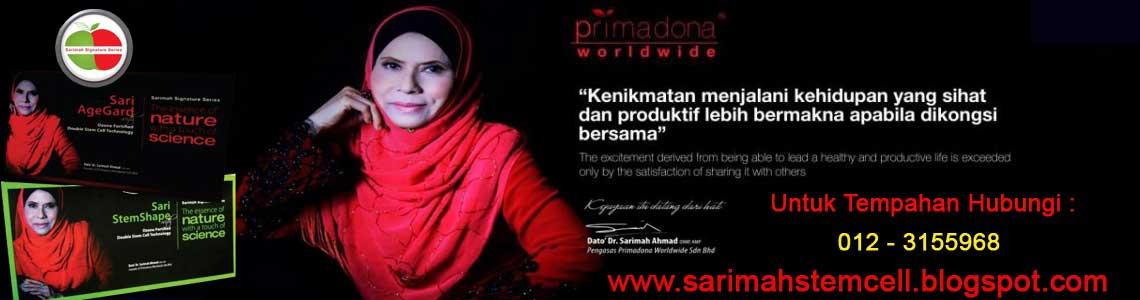 Primadona Dato Sarimah <br> Sehat &amp; Anggun