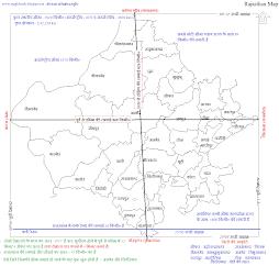 राजस्थान की स्थति और विस्तार