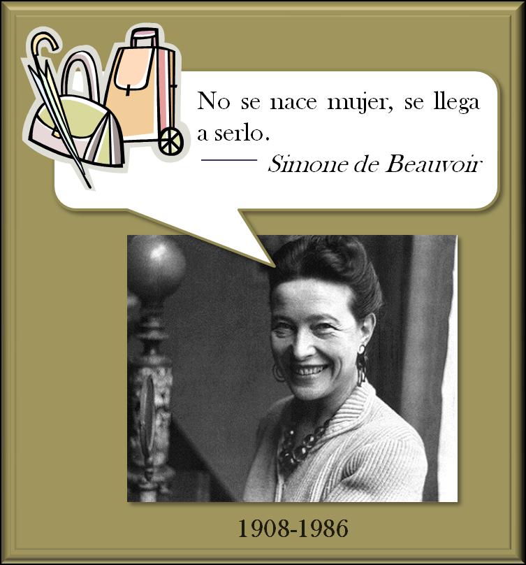 Frases...  - Página 3 Simone+de+Beauvoir