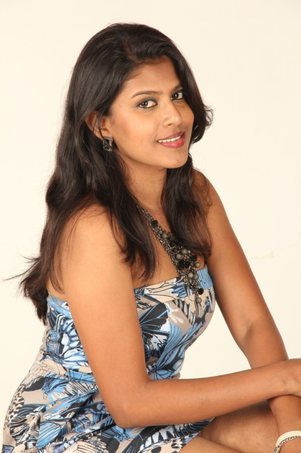 Actress Nithya Latest Photos in Saree and Skirt
