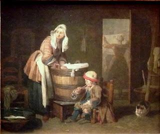 The Laundress, JBS Chardin