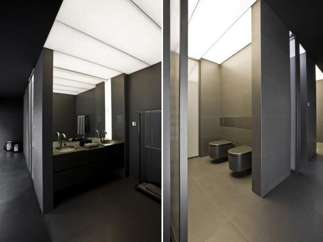 Iluminacion Baño Roca:Baño de diseño espectacular