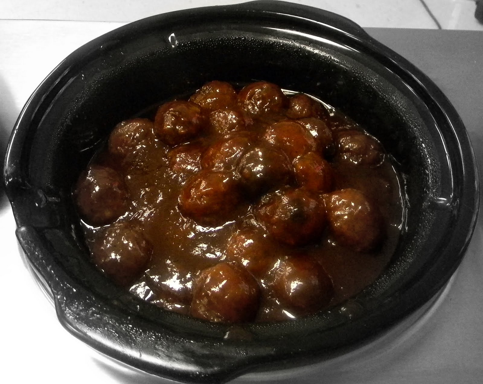 BARBECUE MEATBALLS ~ The Self-Taught Cook™