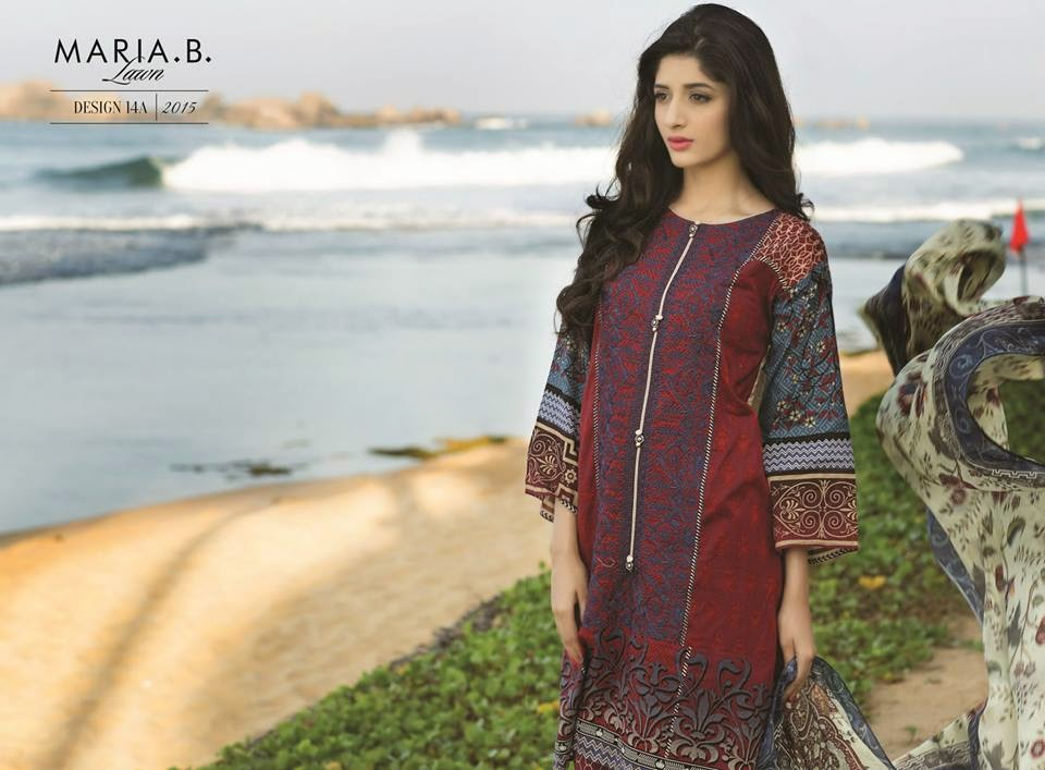 Latest pakistani lawn collection