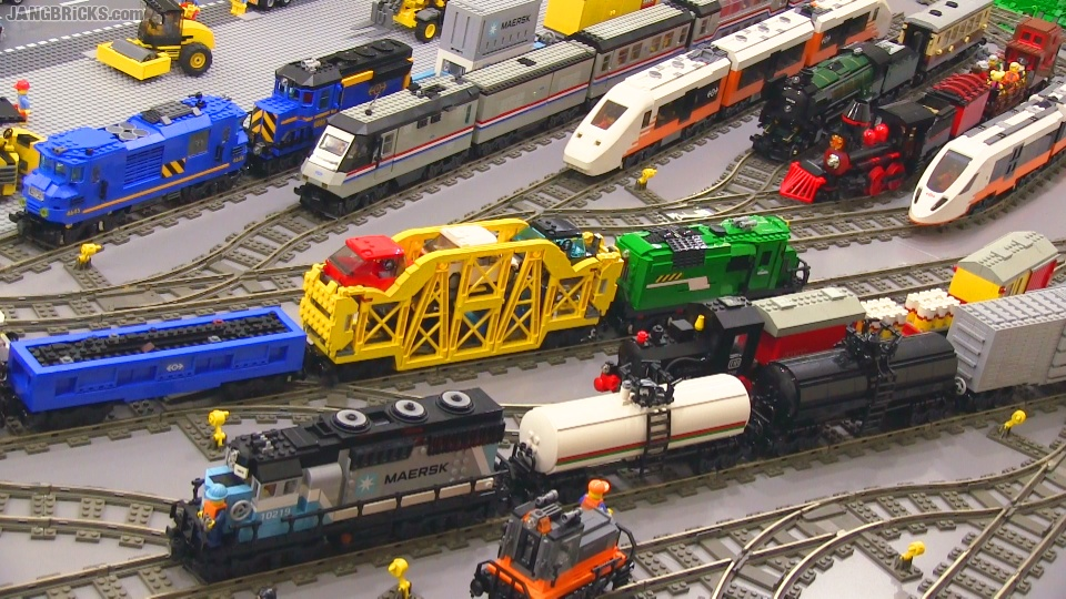 My LEGO Trains in action at last!
