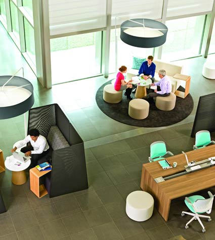 start up companies and office furniture bank and office interiors