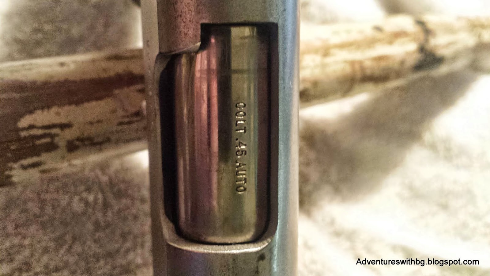 The Caliber of Ammunition Stamped on a pistol
