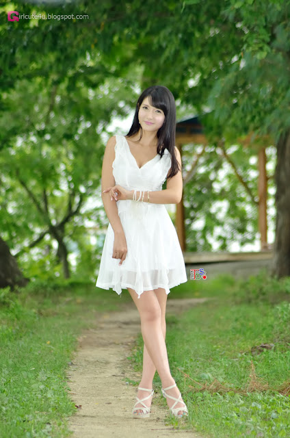 4 Cha Sun Hwa Outdoor  -Very cute asian girl - girlcute4u.blogspot.com