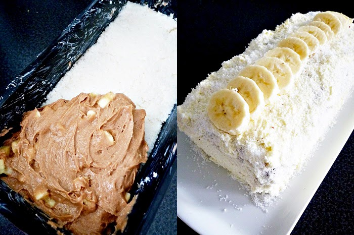 Kokos-Bananen-Kuchen