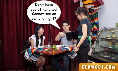 dinner date waitress 2