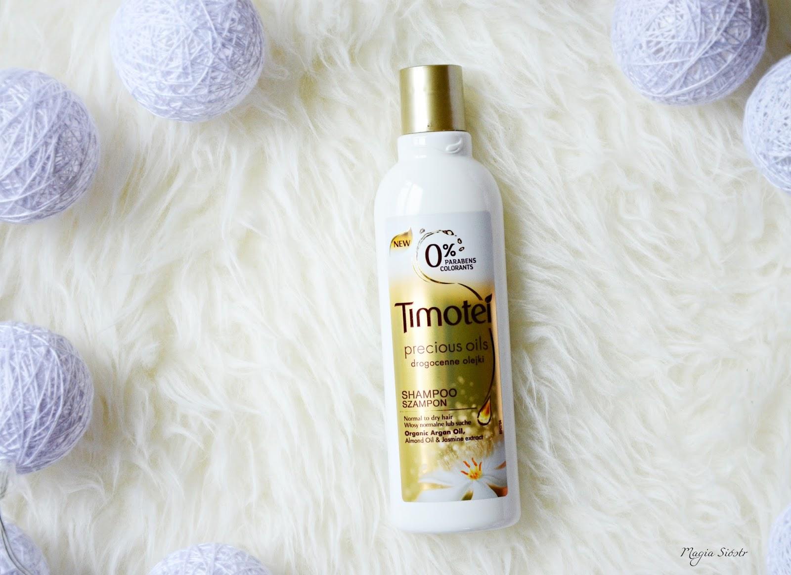 szampon do włosów, kosmetyki Timotei, pielęgnacja włosów, włosy suche, włosy normalne