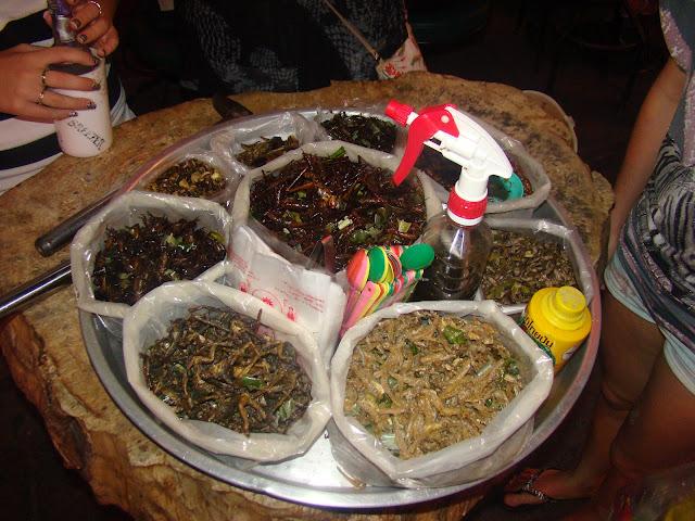 Съедобные жуки Таиланда