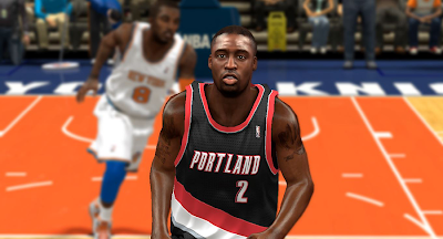 NBA 2K14 Wesley Matthews Face Mod