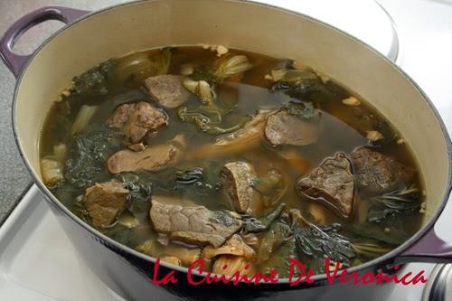 La Cuisine De Veronica,V女廚房,豬肺湯,Pig's Lung Soup,金銀菜豬肺湯