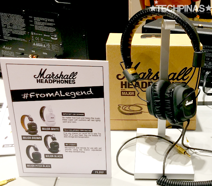 Marshall Major, Marshall Headphones