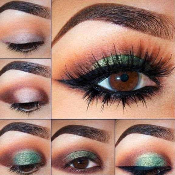 Fashion With Styles Smokey Makeup Tips Urdu Tutorial Smoky Eyes Step By Step Pics