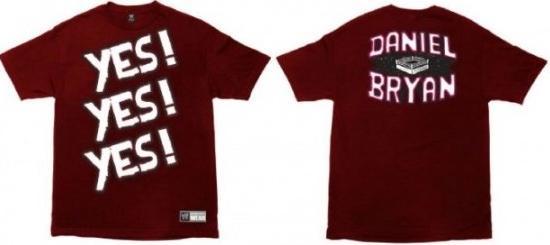 Daniel Bryan Yes Movement Shirt