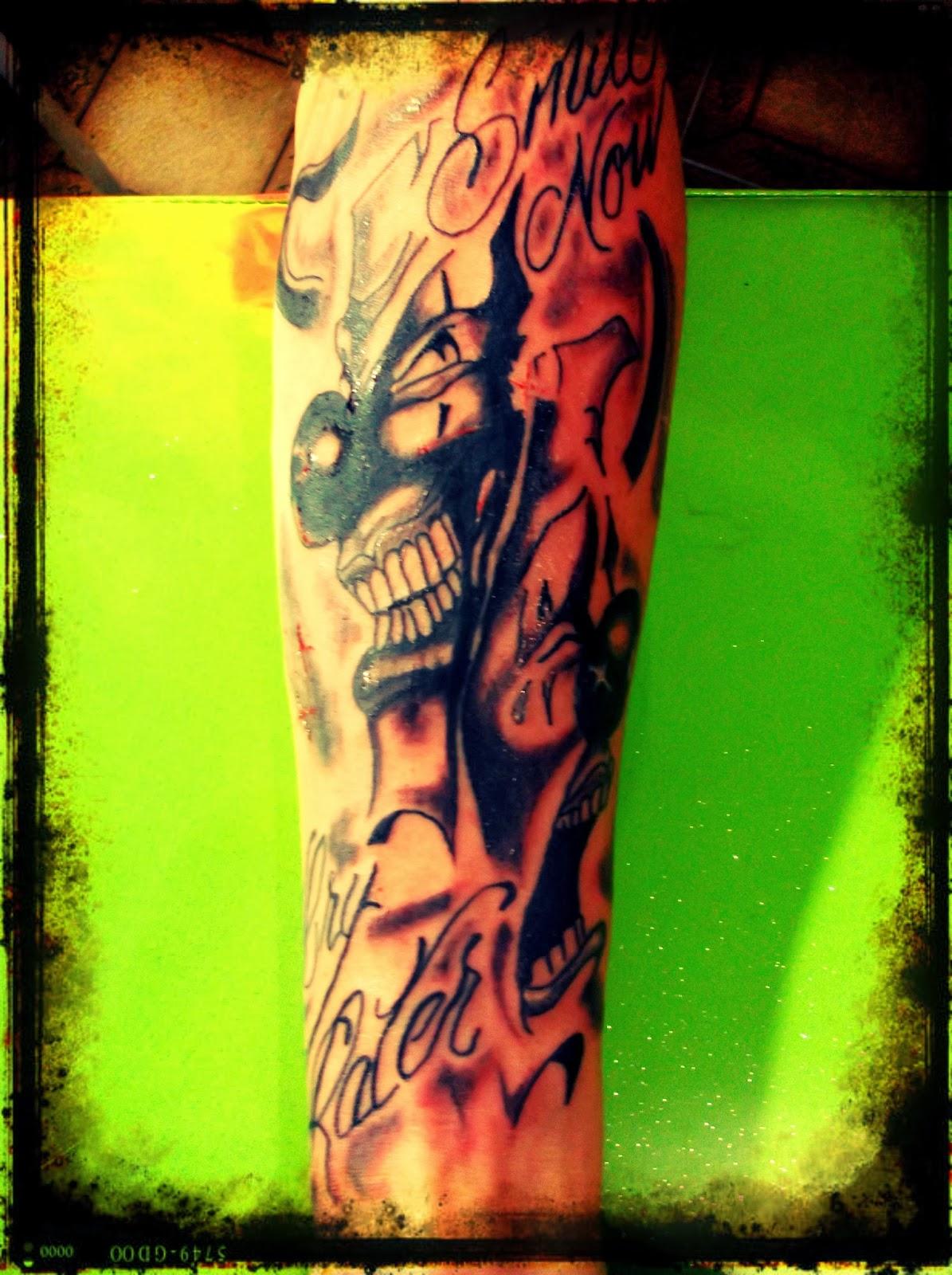 Cat Skull Tattoo: tattoo chora agora ri depois
