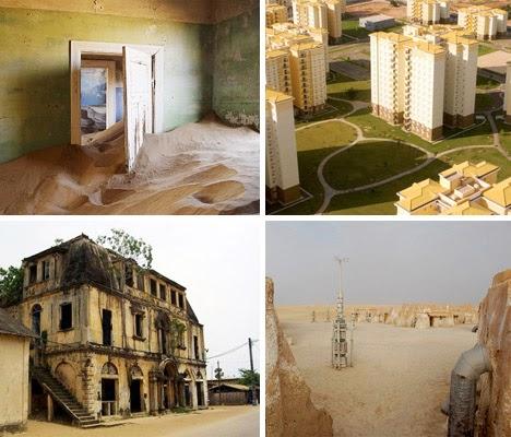 7 maravillosos lugares abandonados en África