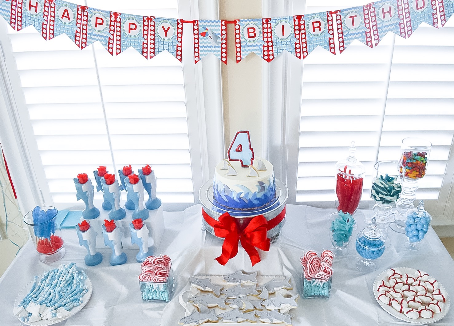 Ryan Turns FOUR! A Shark Birthday | Mr. and Mrs. Powell